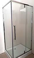 Душевая кабина Veronis KN-16-12 С ПОДДОНОМ профиль нержавеющая сталь 120х80х190, фото 1