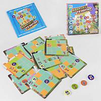 """Настольная игра """"Малюнки та логіка - Лісові звірята"""" UKB-B 0032 """"Fun Game"""""""