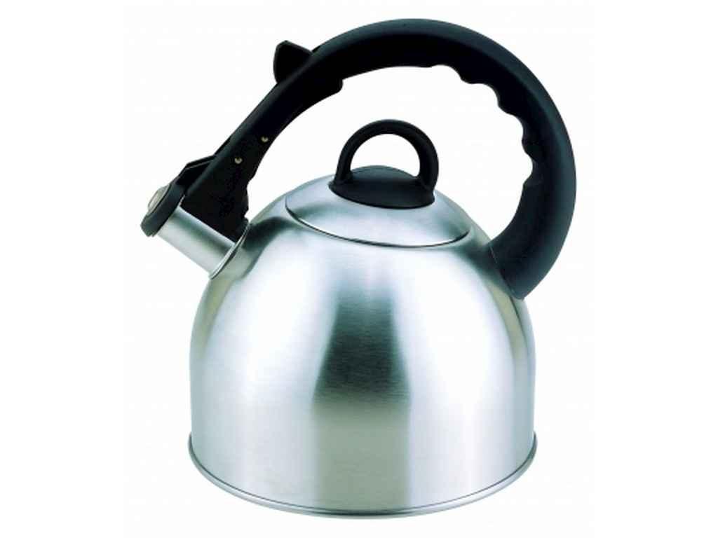 Нержавеющий чайник Con Brio со свистком 2.5 литра СВ407 индукция