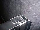 CSARDAS душевая кабина 90*90*200см, однодверная, на среднем поддоне, профиль хром, стекло тонированное 6мм, фото 5