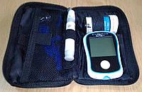 Глюкометр бытовой Exactive Easy + ручка для забора крови, иглы (ланцеты), тест полоски. Витринный образец., фото 1