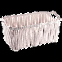 Корзина Flexi 22 л розовая
