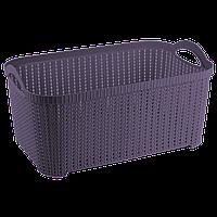 Корзина Flexi 22 л тёмно-фиолетовая