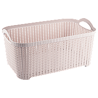 Корзина Flexi 32 л розовая