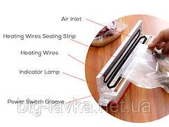 Кухонний вакууматор Tuansing Без пакетів для зберігання