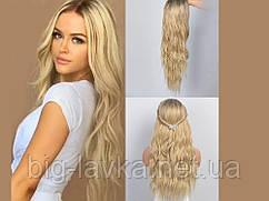 Парик из искусственных волос 65 см  Золотой