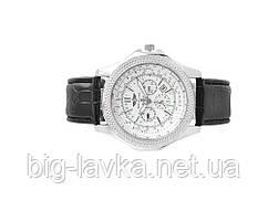Наручные мужские часы Breitling  Серебристый