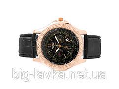 Наручные мужские часы Breitling  Черный