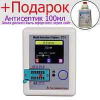 Тестер радиодеталей LCR-TC1, Измеритель ESR LCR, ATmega324PA, аккумулятор 450mAh