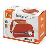 Игрушечный тостер Viga Toys из дерева (50233VG), фото 2
