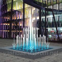 Aquaviva музичний Фонтан танцюючий Aquaviva (квадратний, 2х2 метра)