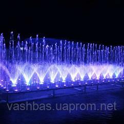 Aquaviva музичний Фонтан AquaViva прямокутний 2х5 метра , 79 форсунок