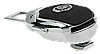 Заглушка - переходник ремня безопасности  с логотипом JAGUAR VIP КЛАССА (Авиационная сталь, кожа), фото 4
