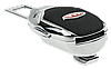 Заглушка - переходник ремня безопасности  с логотипом KIA VIP КЛАССА (Авиационная сталь, кожа), фото 4