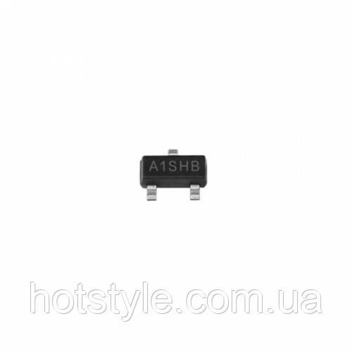 Чип SI2301DS A1SHB SI2301 P SOT23, транзистор MOSFET P-канальный 20В 2.2А, 105056