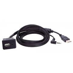 Адаптер для штатных USB/AUX-разъемов ACV Opel Antara, Corsa D (44-1230-001)