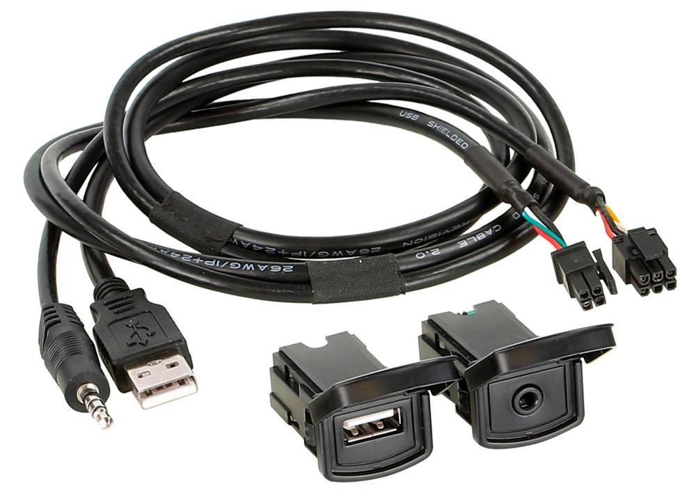 Адаптер для штатных USB/AUX-разъемов ACV Volkswagen Polo (44-1324-003)