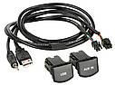 Адаптер для штатных USB/AUX-разъемов ACV Volkswagen Polo (44-1324-003), фото 2
