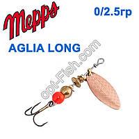 Блесна Mepps Aglia long miedzianna-cooper 0/2,5g