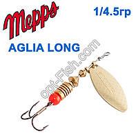 Блесна Mepps Aglia long zota-gold 1/4,5g