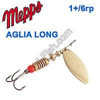 Блешня Mepps Aglia long zota-gold 1+/6g