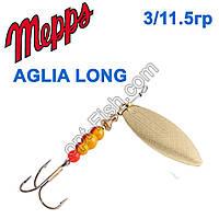 Блешня Mepps Aglia long zota-gold 3/11,5 g