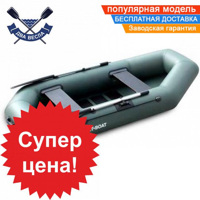 Надувная лодка SportBoat C 260 LS CAYMAN с настилом слань-коврик двухместная