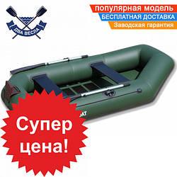 Надувная лодка SportBoat C 260 LST CAYMAN с транцем двухместная, настил слань-коврик