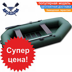 Надувная лодка SportBoat C 300 LS CAYMAN с настилом слань-коврик четырехместная