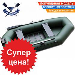 Надувная лодка SportBoat C 300 LSТ CAYMAN с транцем четырехместная, настил слань-коврик