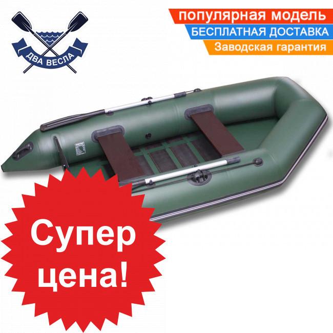 Моторний човен SportBoat DM 290 LS DISCOVERY тримісна з настилом слань-килимок