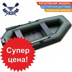 Надувная лодка SportBoat C 270 LSТ CAYMAN с транцем двухместная, настил слань-коврик