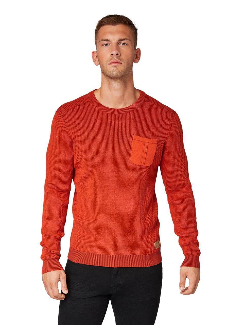 Джемпер Tom Tailor 1013164 XL Красный