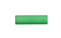 Аккумулятор 18650 Li-Ion Sony US18650VTC6, 3000mAh, 30A, 4.2/3.6/2.5V, GREEN, Shrink