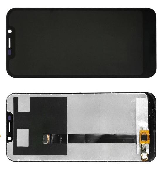 Дисплей для Doogee X70 модуль в сборе с тачскрином, черный