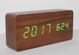 Настільні годинники Best ART-862W Коричневий