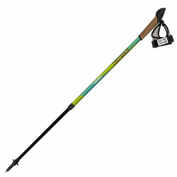 Палки для скандинавской ходьбы Vipole Vario Top-Click Novice S1951