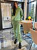 Спортивный костюм женский на флисе Fashion сиреневый, M, фото 4