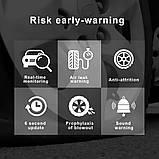 Система контроля давления в шинах Автомобильная с 4 датчиками, USB, Android, фото 3