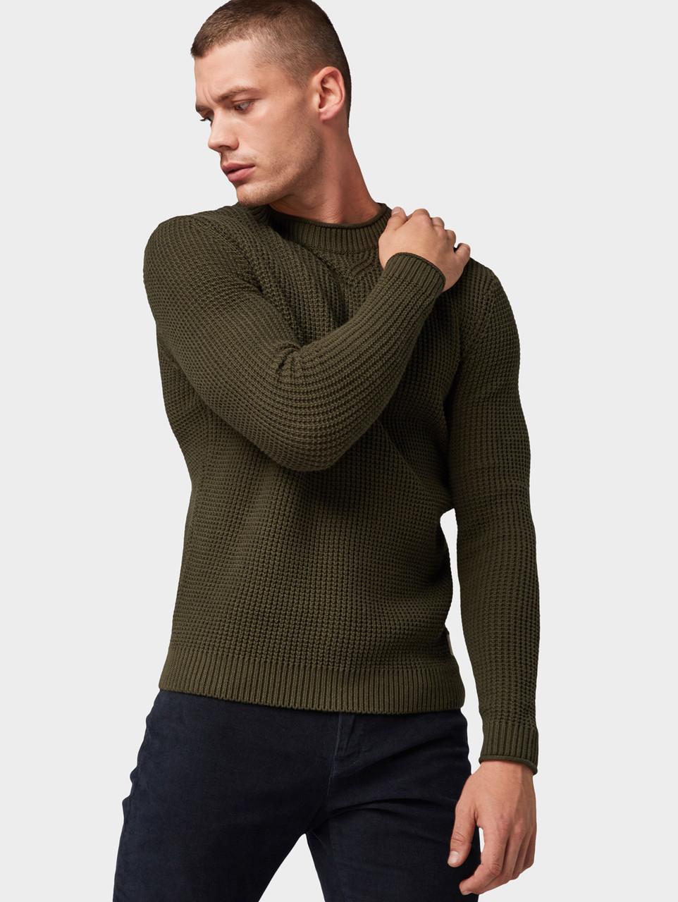 Джемпер Tom Tailor 1013167 XL Зеленый