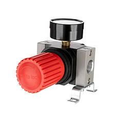 """Регулятор давления 1/2"""", 1-16 бар, 4000 л/мин, профессиональный INTERTOOL PT-1428, фото 3"""