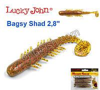 Виброхвост 3,9 Bagsy Shad LUCKY JOHN*5 140108-PA03
