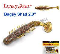 Виброхвост 2,8 Bagsy Shad LUCKY JOHN*7 140107-PA03