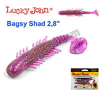Виброхвост 2,8 Bagsy Shad LUCKY JOHN*7 140107-S13