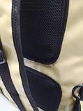 Каркасна термосумка - рюкзак для Dolphin кур'єрської доставки їжі і піци, на паралельних блискавках., фото 7