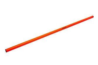 Палка для гимнастики SECO 1 м цвет: оранжевый