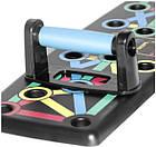 Доска для отжимания Push Up Rack Board, опоры для отжимания, стойка для бодибилдинга с разным хватом, фото 9
