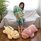 Іграшка-плед-подушка Діно бежевий, фото 2