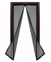 Москитная сетка Magic Mesh (Меджик Меш) , черный, Антимоскитные сетки