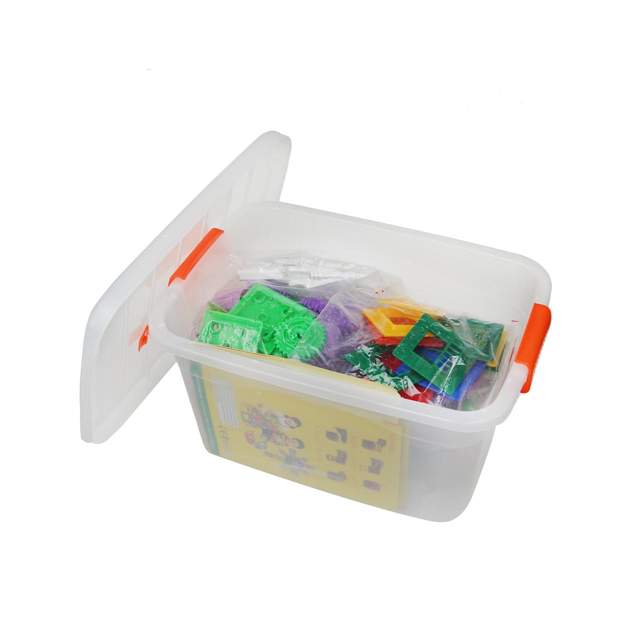 Магнитный конструктор 258 предметов, Магнитный конструктор 3D, Конструкторы